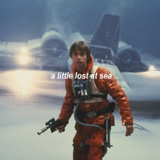 a little lost at sea