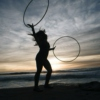 The Hula Hoop Girl Air Element