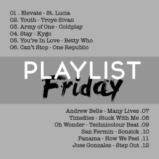 Playlist Friday #1