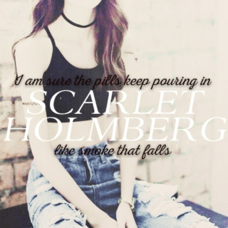 Scarlet Holmberg; the girl who fought.