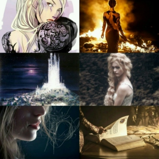 Queen of Shadows // Aelin Galathynius