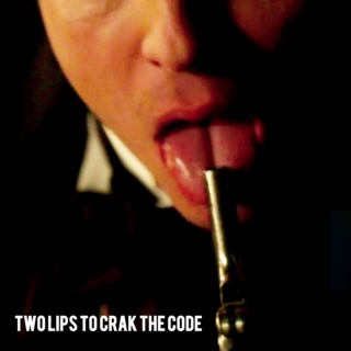 two lips to crack the code.