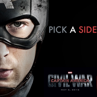 Captain America: Civil War- Pick A Side TeamStucky