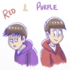 Red & Purple