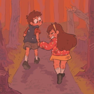 goodbye (part 2- we walk through the woods, neither of us look back)