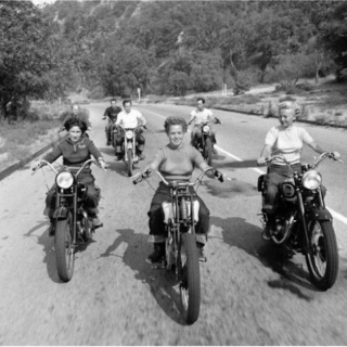 Nostalgic girl gangs from summers past