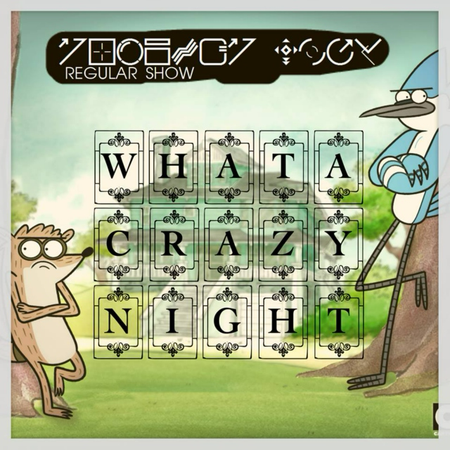Regular Show's #WHATACRAZYNIGHT