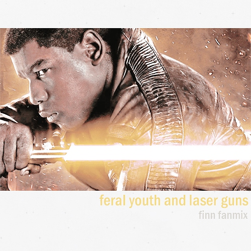 feral youth and laser guns
