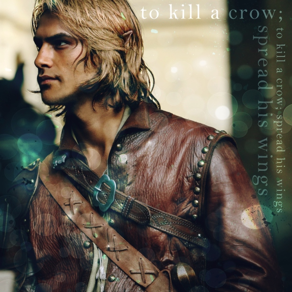 To Kill a Crow; Spread His Wings