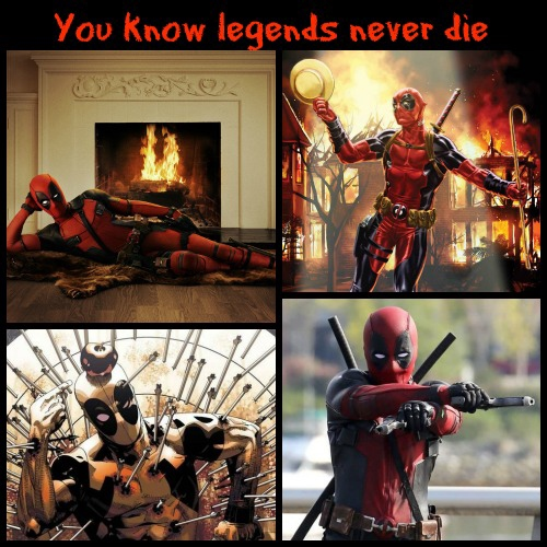 You know legends never die.