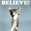 Motivational Cat Poster