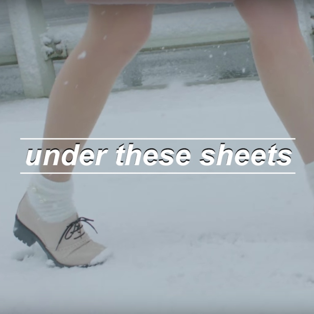 under these sheets