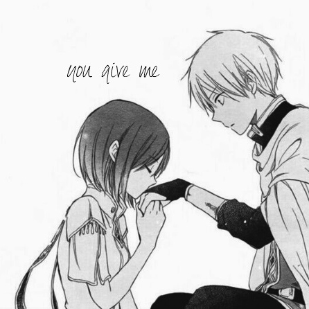 you give me: side a