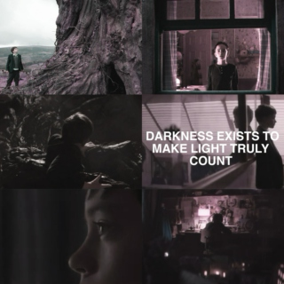Darkness exists to make light truly count