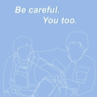 Be careful. // You too.