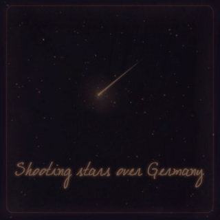 Shooting stars over Germany