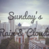 Sunday's Rain & Cloud