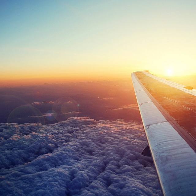 WAKING UP IN A PLANE