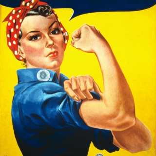 We Can Do It!-Women's History Month