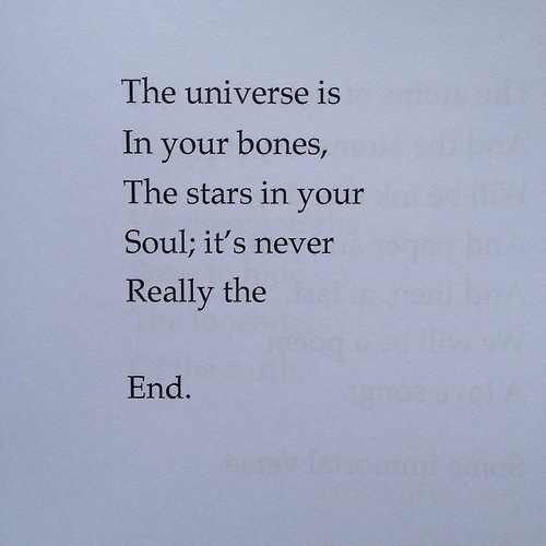 It's never really the end