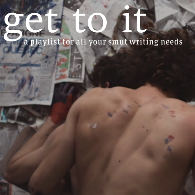 get to it (writing that is).