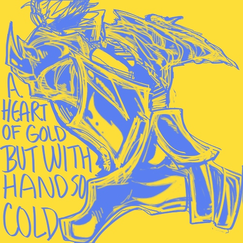 A Heart of Gold but With Hands So Cold