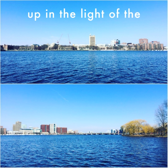 up in the light of the