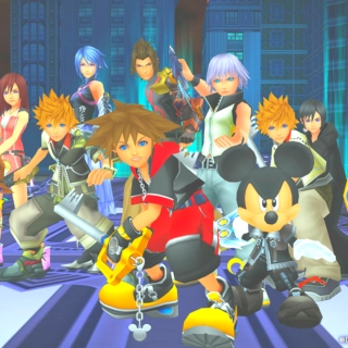kingdom hearts is light.