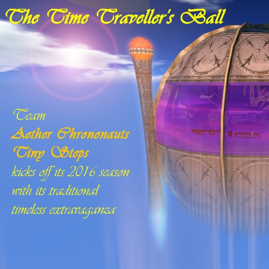 Time Travellers' Ball 2016