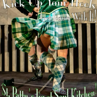 Wednesday March 16, 2016 ~ St. Patty's Dance