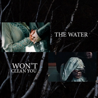 The Water won't clean you
