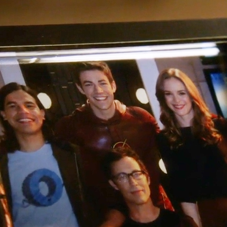 we're family, barry.