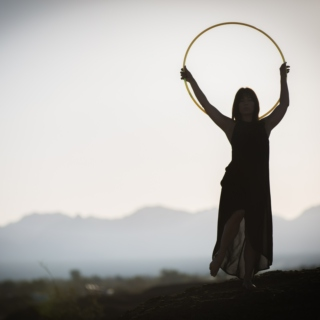 The Hula Hoop Girl Elemental Hoop Dance Fire