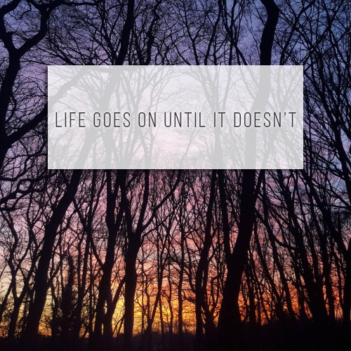 Life Goes On Until It Doesn't