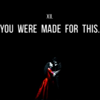 XII. YOU WERE MADE FOR THIS
