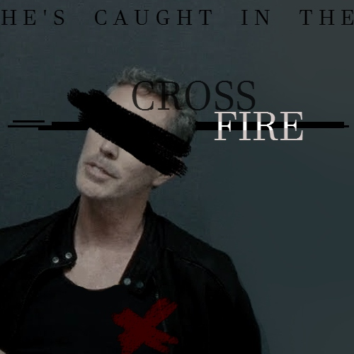 ♔ { he's caught in the crossfire