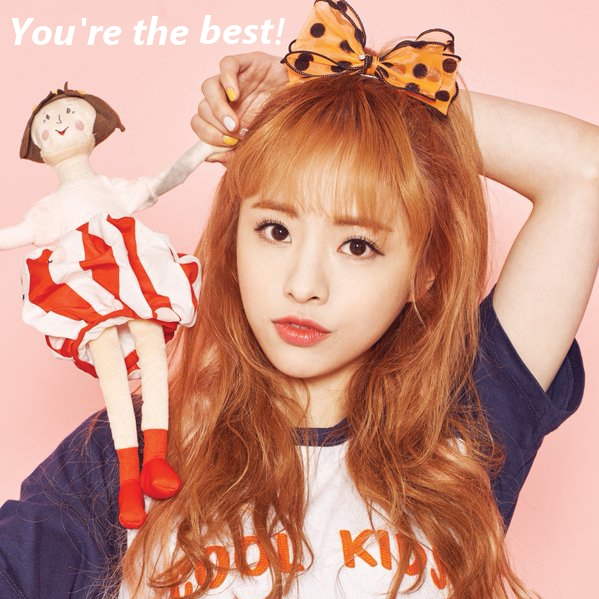 you're the best! [2016 girls]