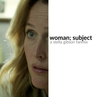 woman; subject