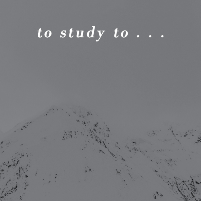 to study to