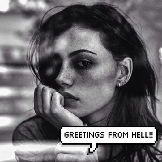 greetings from hell