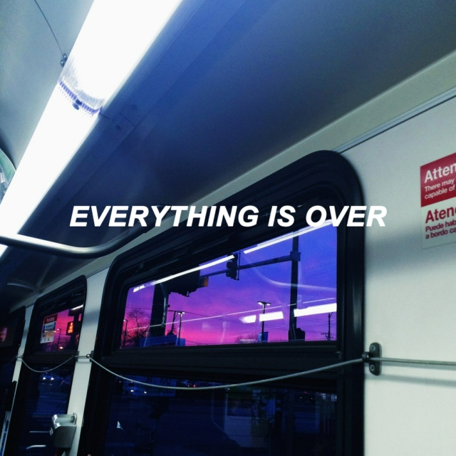 everything is over