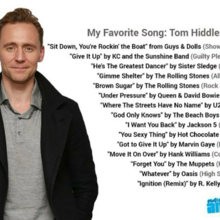 Tom Hiddleston's Favourite Songs