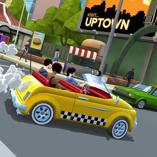 CRAZY TAXI:City Rush