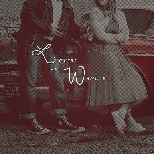 { lovers who wander }