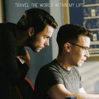 Travel the world within my lips