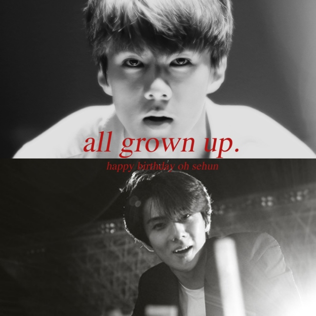 all grown up.