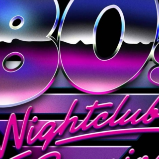80's new wave (and more) club night