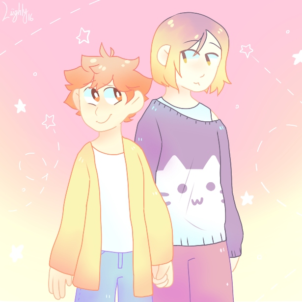 you got me beaming [kenhina]