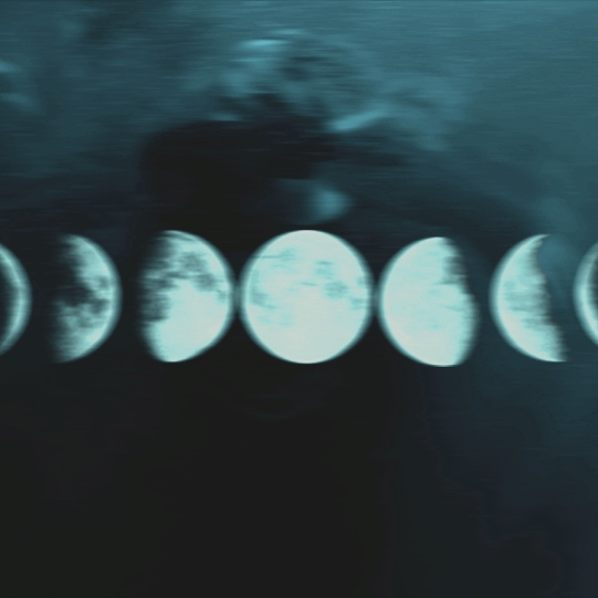 the moon knows nothing save sorrow, and distance