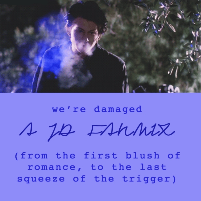 we're damaged (from the first blush of romance, to the last squeeze of the trigger) –a jd fanmix